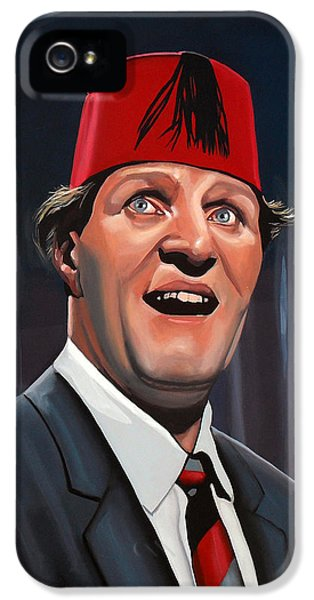 Magician iPhone 5 Case - Tommy Cooper by Paul Meijering