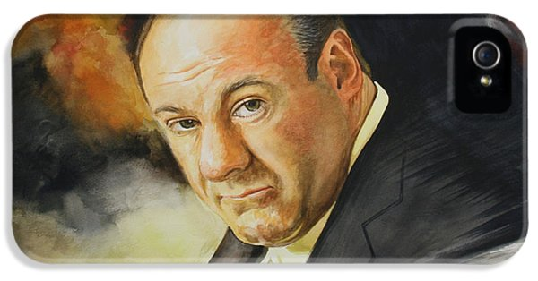 Tony Soprano IPhone 5 / 5s Case by Jan Szymczuk
