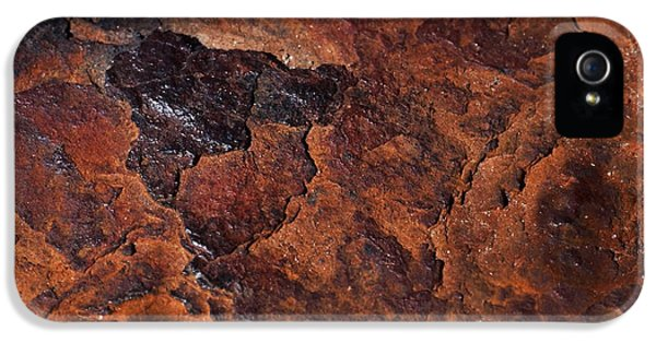 Topography Of Rust IPhone 5 Case