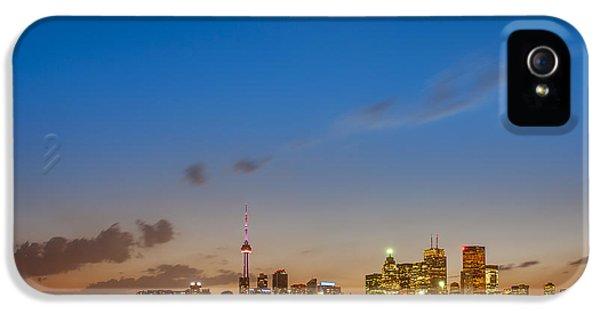 Toronto Skyline IPhone 5 Case by Sebastian Musial