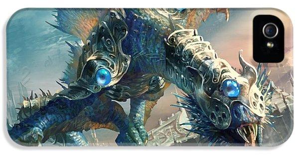 Dragon iPhone 5 Case - Tower Drake by Ryan Barger