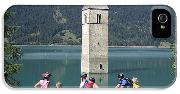 Tower In The Lake IPhone 5 Case
