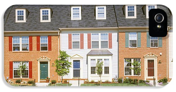 Townhouse, Owings Mills, Maryland, Usa IPhone 5 Case