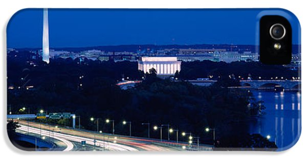 Traffic On The Road, Washington IPhone 5 Case by Panoramic Images