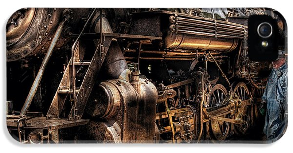 Train - Engine -  Now Boarding IPhone 5 Case
