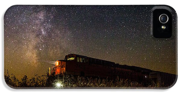 Train To The Cosmos IPhone 5 / 5s Case by Aaron J Groen