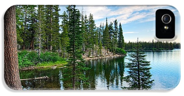 Tranquility - Twin Lakes In Mammoth Lakes California IPhone 5 Case
