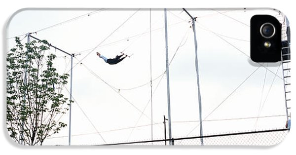 Trapeze School New York, Hudson River IPhone 5 Case by Panoramic Images