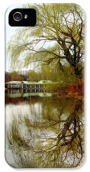 Tree By The River  IPhone 5 Case by Mark Ashkenazi
