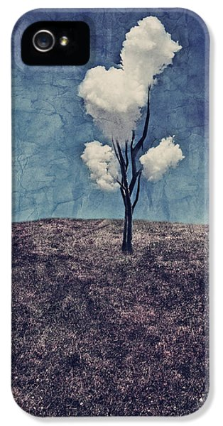 Tree Clouds 01d2 IPhone 5 Case by Aimelle