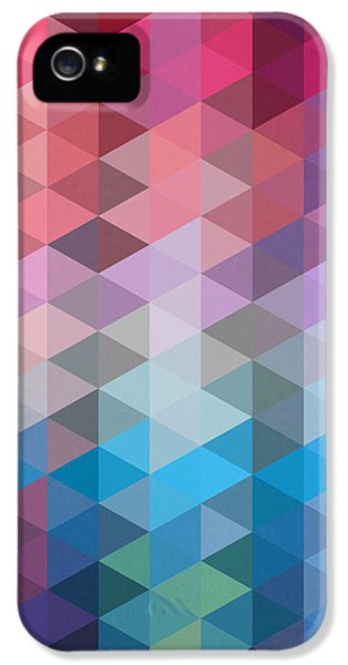 Triangles IPhone 5 Case by Mark Ashkenazi