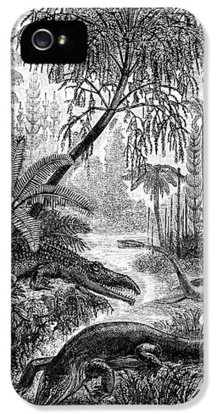 Triassic World IPhone 5 Case by Collection Abecasis