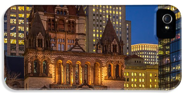 Trinity Church In Copley Square IPhone 5 Case