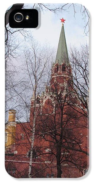 Trinity Tower At Dusk IPhone 5 / 5s Case by Anna Yurasovsky