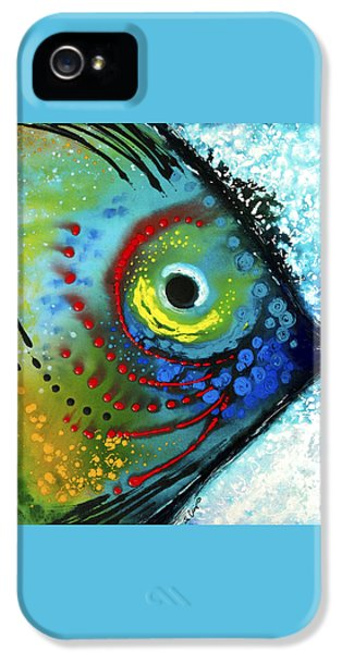 Tropical Fish - Art By Sharon Cummings IPhone 5 Case