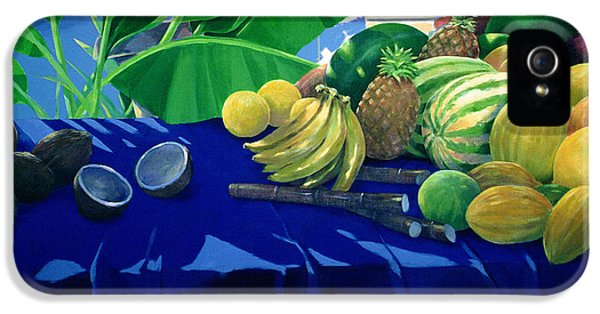 Tropical Fruit IPhone 5 Case by Lincoln Seligman