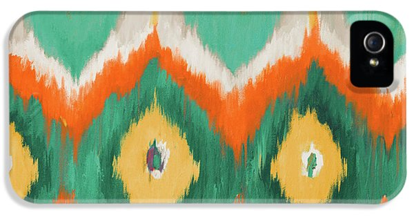 Tropical Ikat II IPhone 5 Case by Patricia Pinto