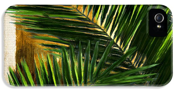 Tropical Leaves IPhone 5 Case