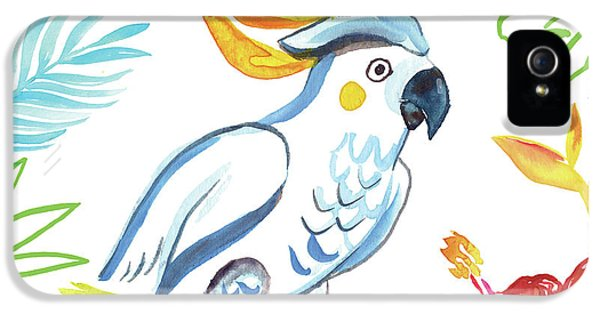 Cockatoo iPhone 5 Case - Tropicana I by Farida Zaman