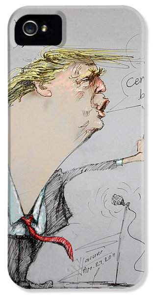 Trump In A Mission....much Ado About Nothing. IPhone 5 Case