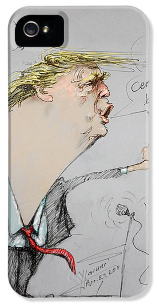 Trump In A Mission....much Ado About Nothing. IPhone 5 Case by Ylli Haruni