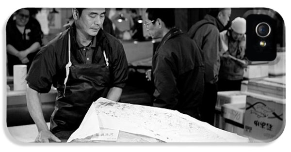 Tsukiji Tokyo Fish Market IPhone 5 Case by Sebastian Musial