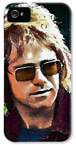 Elton John iPhone 5 Case - Tumbleweed by John Travisano