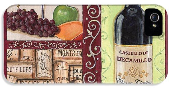 Tuscan Collage 2 IPhone 5 Case by Debbie DeWitt