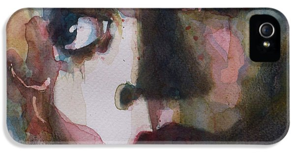Rolling Stone Magazine iPhone 5 Case - Twiggy Where Do You Go My Lovely by Paul Lovering