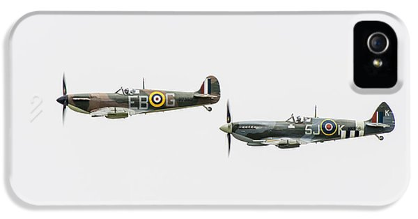 Two Spitfires IPhone 5 Case by Gary Eason