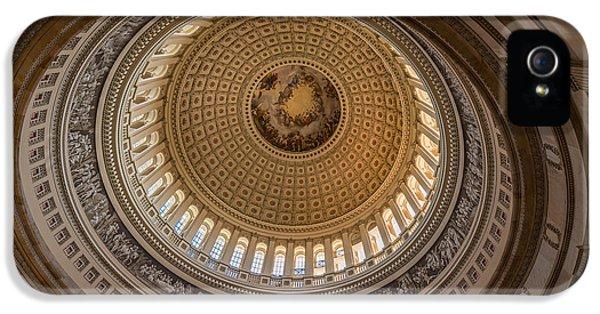 U S Capitol Rotunda IPhone 5 Case by Steve Gadomski