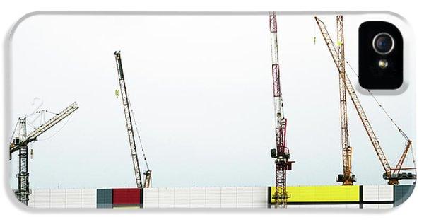 Crane iPhone 5 Case - Under Construction by Donghee, Han