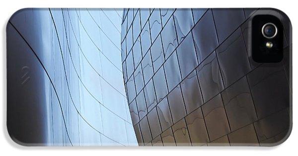 Undulating Steel IPhone 5 Case by Rona Black