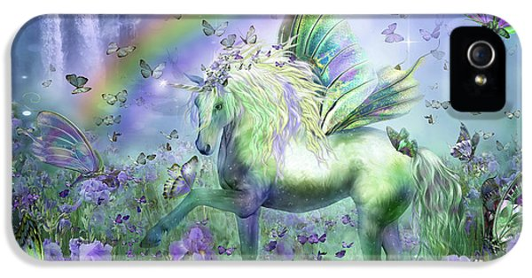 Unicorn Of The Butterflies IPhone 5 Case