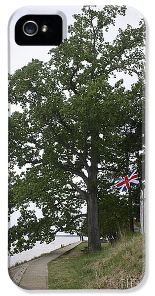 Union Jack On The James River IPhone 5 Case by Teresa Mucha