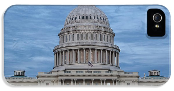 United States Capitol Building IPhone 5 Case by Kim Hojnacki