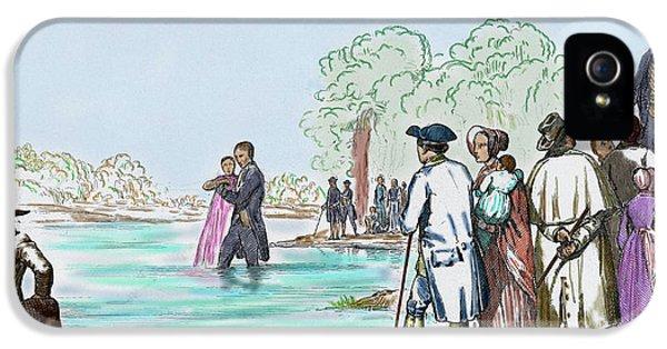 United States Virginia Anabaptist IPhone 5 Case