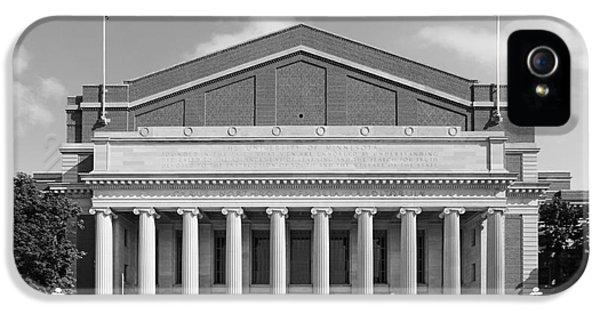 University Of Minnesota Northrop Auditorium IPhone 5 / 5s Case by University Icons
