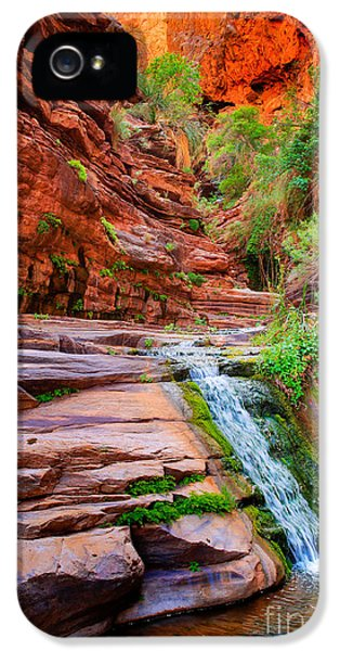 Elf iPhone 5 Case - Upper Elves Chasm Cascade by Inge Johnsson