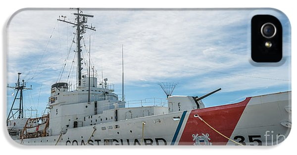 Us Coast Guard Cutter Ingham Whec-35 - Key West - Florida - Panoramic IPhone 5 Case
