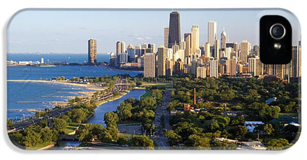 Usa, Illinois, Chicago IPhone 5 Case by Panoramic Images