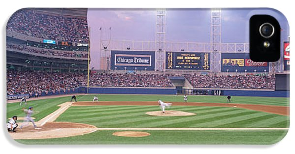 Usa, Illinois, Chicago, White Sox IPhone 5 Case by Panoramic Images