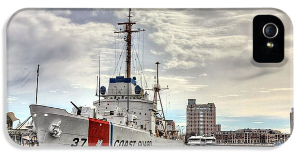 Uscg Cutter Taney IPhone 5 Case by JC Findley