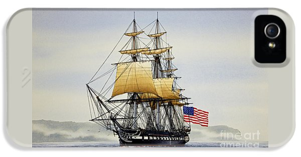 Boston iPhone 5 Case - Uss Constitution by James Williamson