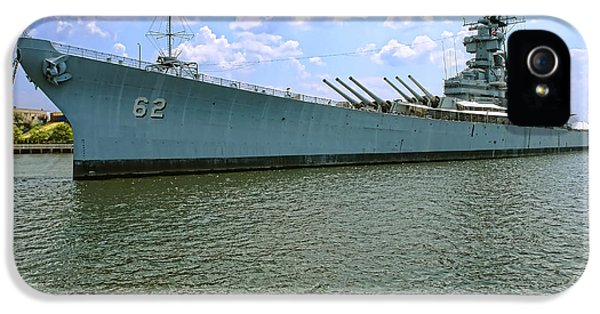 Uss New Jersey IPhone 5 Case by Olivier Le Queinec