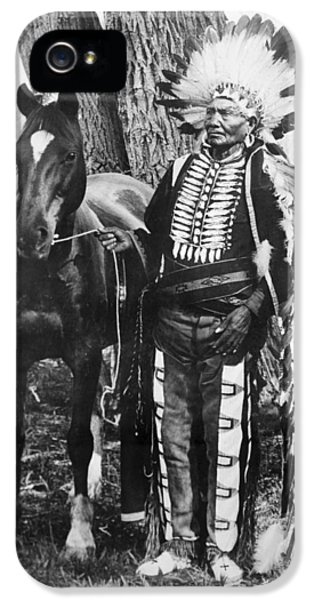 Ute Chief Ignacio, C1904 IPhone 5 Case