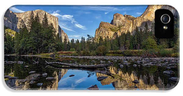Valley View I IPhone 5 / 5s Case by Peter Tellone