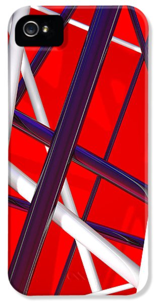 Van Halen 3d Iphone Cover IPhone 5 Case by Andi Blair