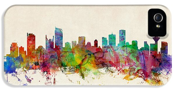 Vancouver Canada Skyline IPhone 5 Case by Michael Tompsett