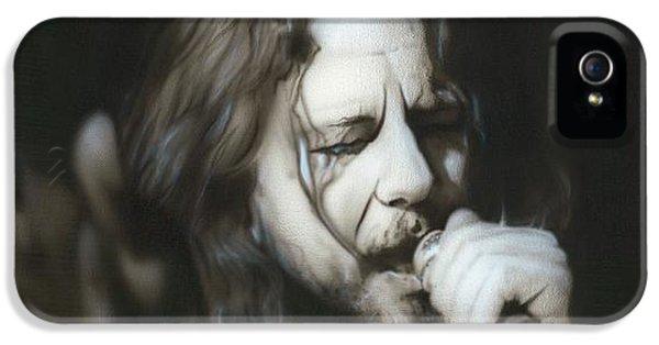 Pearl Jam iPhone 5 Case - Vedder IIi by Christian Chapman Art